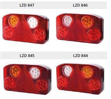 Led multifunksjons lamper
